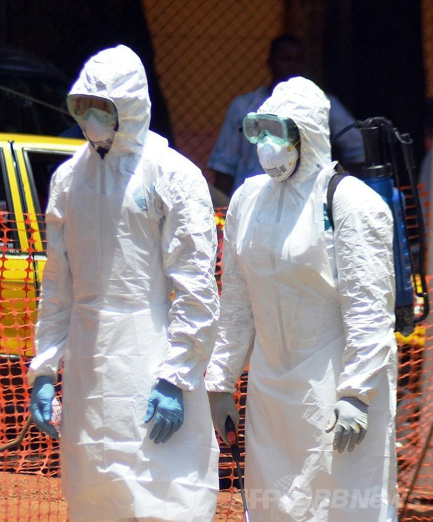 エボラ出血熱、リベリアでも感染確認 流行規模は「前代未聞」