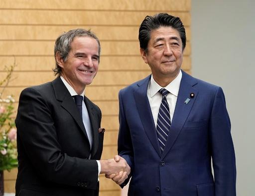 IAEA事務局長、福島第1原発処理水の海洋放出に支援表明