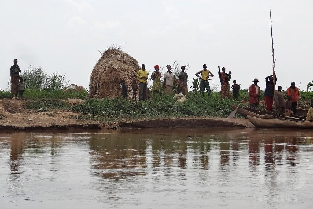 湖に次々浮かぶ腐乱遺体、四肢を縛られ袋詰め アフリカ中部