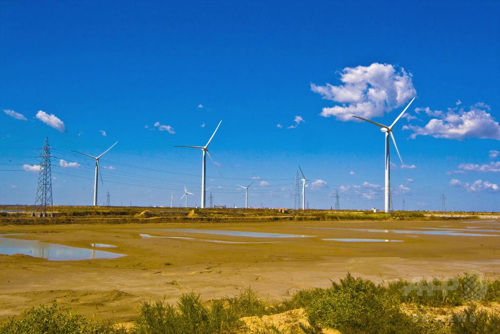 米アップル、中国の風力発電設備大手と提携