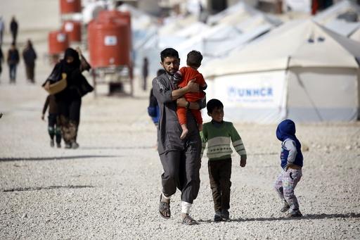 医療支援や食料も限界…シリア難民キャンプ、支援団体「悲惨な状況」
