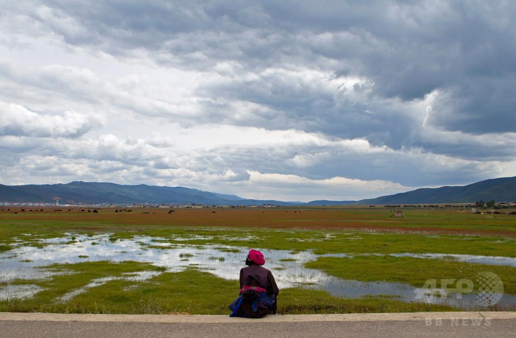 中国・四川省でチベット人女性が焼身自殺、チベット蜂起の日を前に