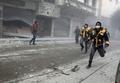 シリア東グータ、政府軍空爆7日連続 死者500人に