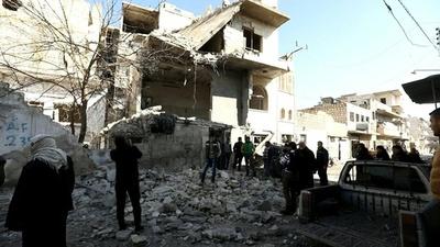 動画:シリア・イドリブで連続爆弾攻撃、24人死亡 監視団発表