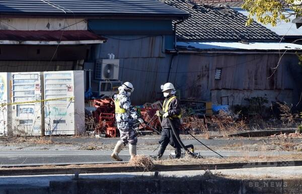福島原発の除染作業に外国人実習生、4社で発覚 法務省調査