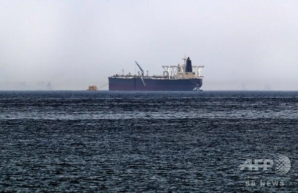 サウジ石油タンカー2隻、UAE沖で「破壊行為」受け損傷