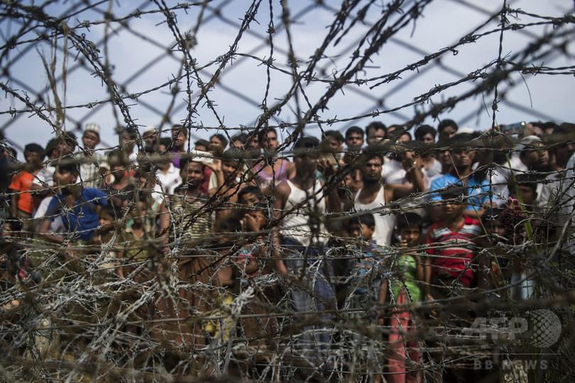 カナダ、ロヒンギャ難民の受け入れ表明 人権侵害でICC付託も