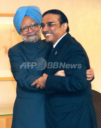 印パ首脳会談、包括対話の年内再開で合意