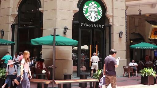 動画:スターバックスの手話店舗、広州に登場