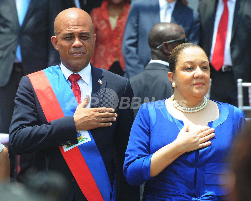 マーテリー新大統領が就任、秩序と自信の回復を約束 ハイチ