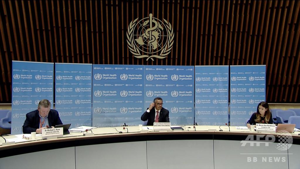 各国の新型コロナ死者数、中国同様修正される可能性 WHO指摘