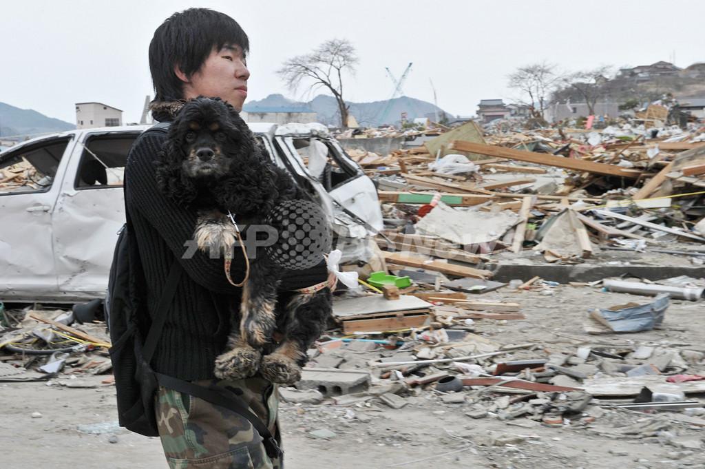 大船渡で津波の高さ23メートル、東北地方太平洋沖地震