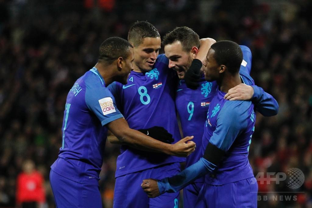 イングランドが現実に引き戻される、オランダに逆転負け