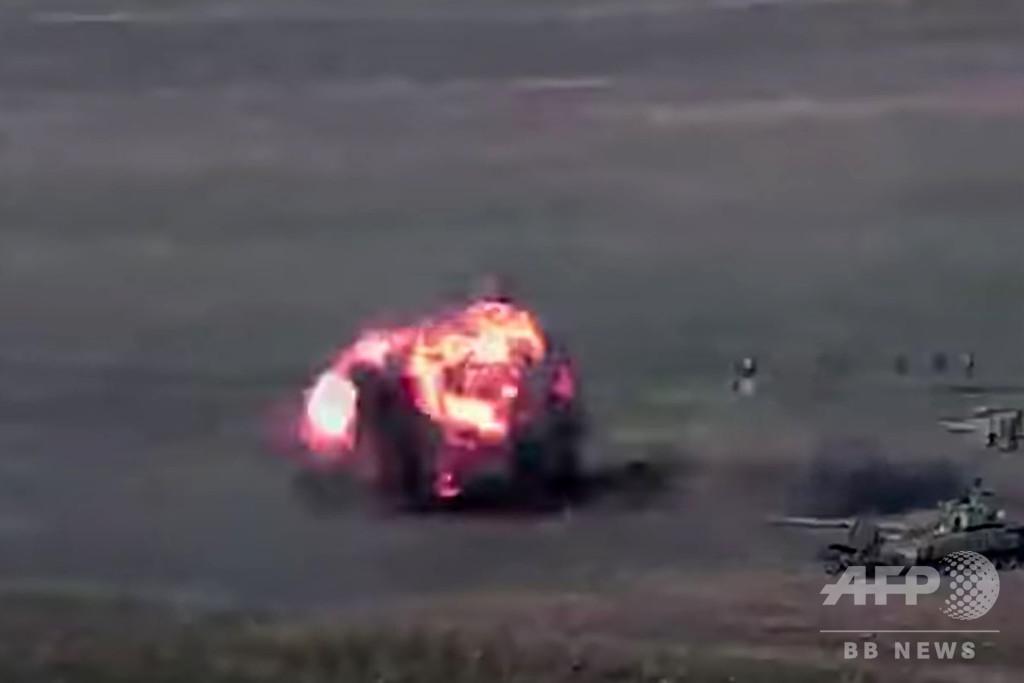 アルメニアとアゼルバイジャン、係争地で軍戦闘