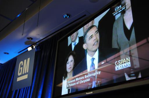 「GMは再建できる」、オバマ大統領