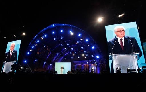 ベルリンの壁崩壊から30年、独大統領「米国は利己主義を捨てよ」