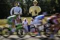 【AFP記者コラム】ツール・ド・フランス、情熱に生きる沿道サポーター