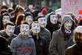 欧州各都市で反対デモ、偽造品取引の防止協定に抗議