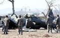 陸軍基地近くでヘリ墜落、3人死亡 韓国