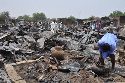 チャド軍、ボコ・ハラムが掌握のナイジェリア北東部の町を空爆