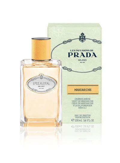 弾けるようなマンダリンの香り、「プラダ」新フレグランス