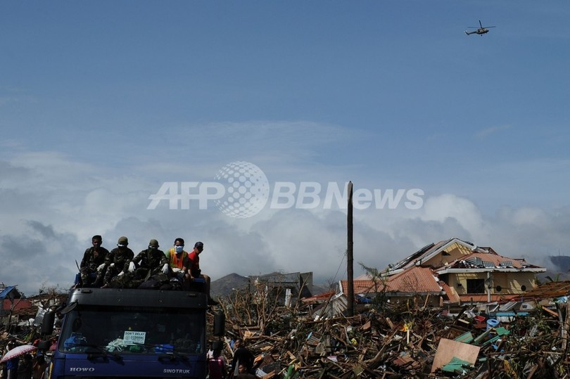 台風30号、サマール島で300人死亡 推計死亡者1万人以上