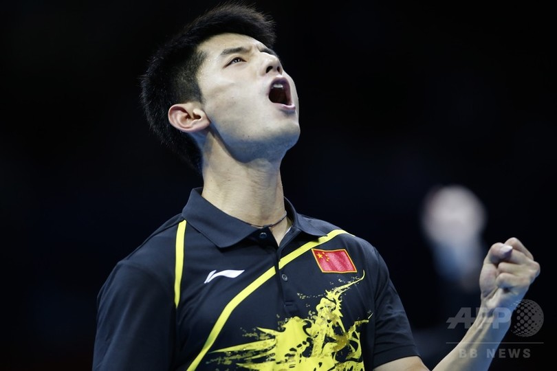 卓球ロンドン金、人気の張継科カムバック 東京五輪の可能性は?