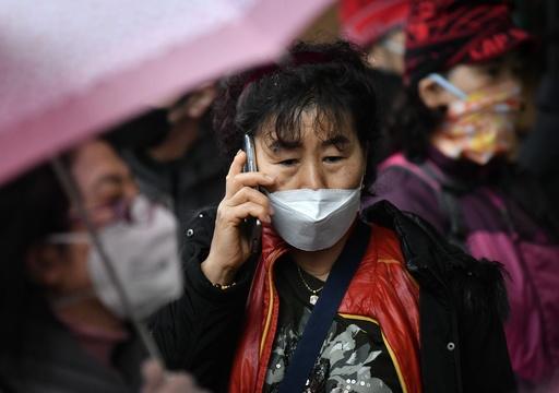 韓国の新型ウイルス感染者数、1100人超に 中国以外では群を抜いて最多