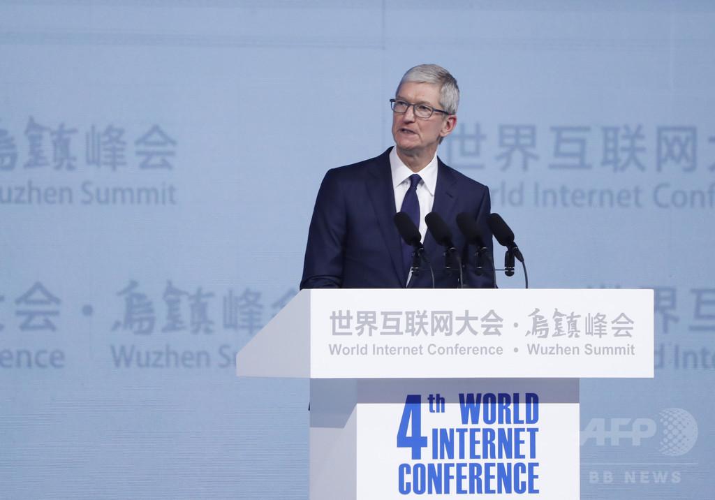 アップル、中国の開発者収入が世界最高水準に クックCEO