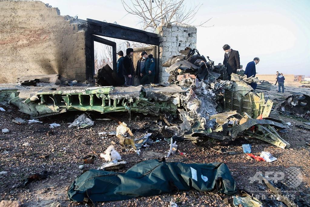 イランでウクライナ機墜落、乗客乗員176人全員死亡