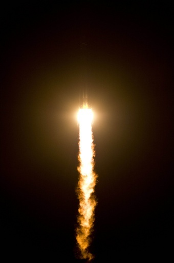 ソユーズ、6時間の「特急」飛行でISS目指す
