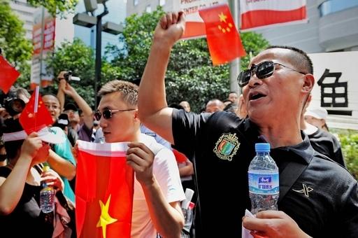 船長逮捕に中国各地で抗議デモ、尖閣諸島の漁船衝突
