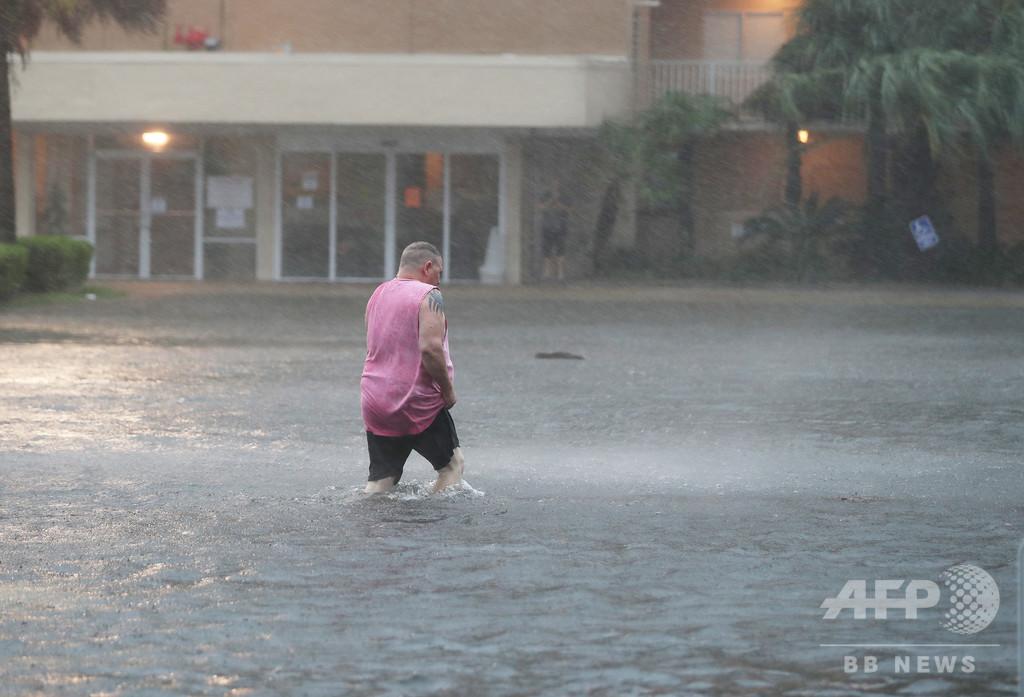 ハリケーン「サリー」が米上陸 大規模な洪水の恐れ