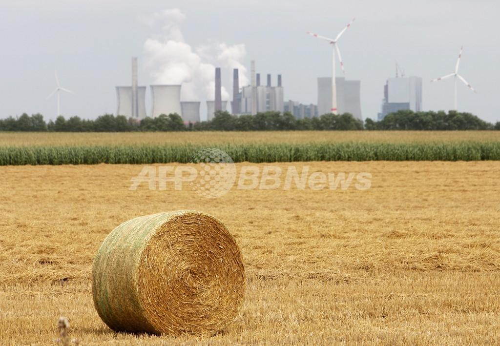 「脱原発」ドイツ、2012年の温室効果ガス排出量は微増