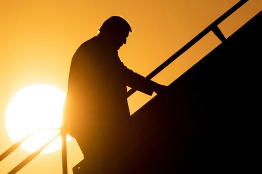 【写真特集】トランプ米大統領と大統領専用機「エアフォースワン」