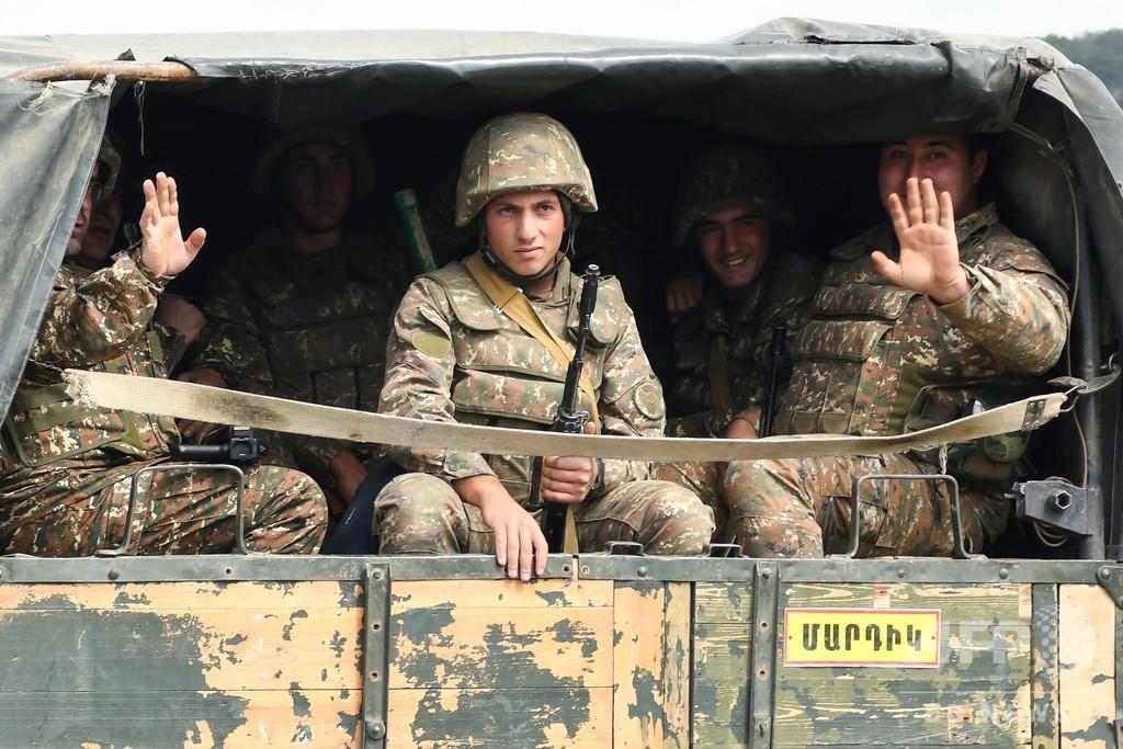 アルメニア、トルコ戦闘機が自国機撃墜と主張 ナゴルノカラバフ衝突
