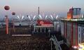 北朝鮮、新型弾道ミサイル発射実験祝う大規模な式典