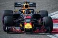リカルドが今季初勝利、表彰台では「シューイ」を披露 中国GP