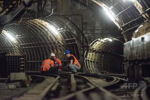 国際ニュース:AFPBB News英郵便博物館着工、目玉はロンドン地下の「郵便鉄道」