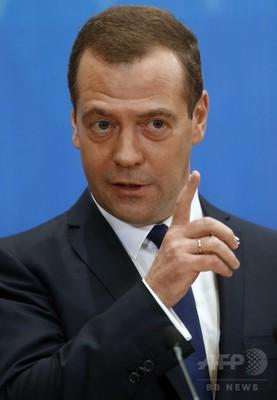 シリアへのアラブ地上部隊派遣は「世界大戦の引き金」、露首相
