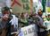 農家ら350人が東電本店前で抗議、原発事故の補償求める