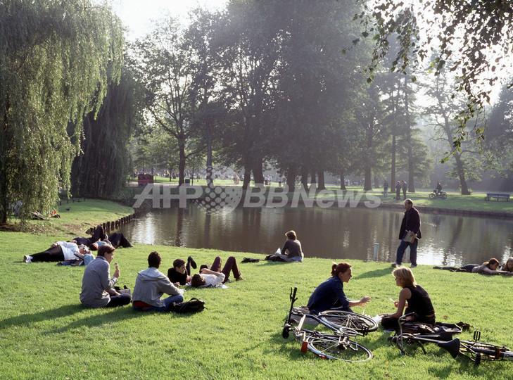 市民公園内でのセックス黙認へ アムステルダム