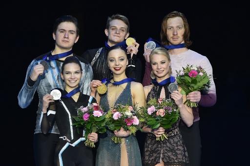 ペアはロシア勢が表彰台独占、女子SPでコストルナヤ首位 フィギュア欧州選手権