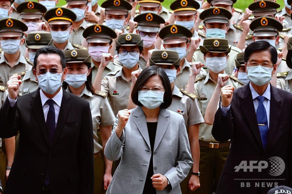 台湾総統、香港人への人道的「行動計画」策定を表明