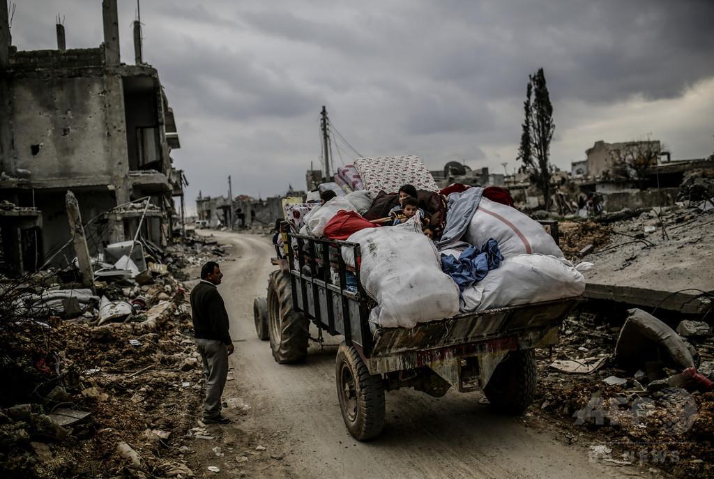 紛争などで家を追われた避難民、過去最高の6560万人 国連