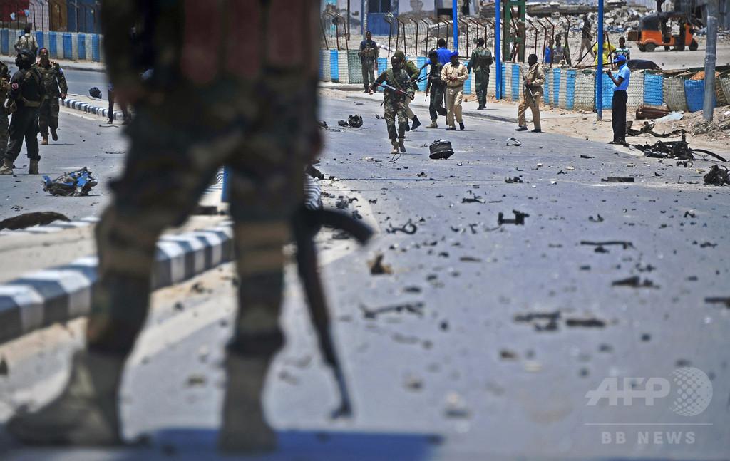 ソマリア首都の自爆攻撃、死者39人に