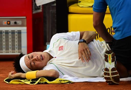 錦織、イタリア国際欠場 全仏オープンに照準