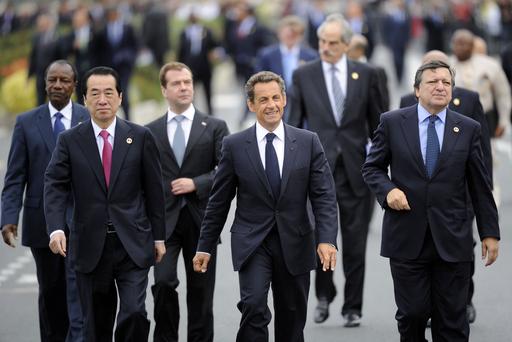 G8首脳会議、「アラブの春」に支持表明
