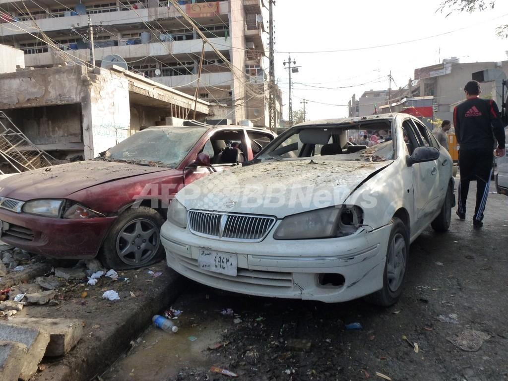 政治危機深まるイラクで連続爆発、死傷者多数 バグダッド