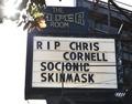 ロック歌手C・コーネルさんが自殺 サウンドガーデン公演直後に